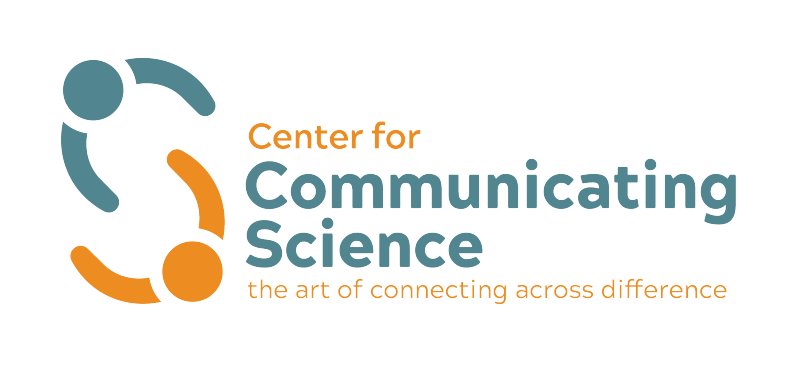 Center for Communicating Science - teal and orange logo